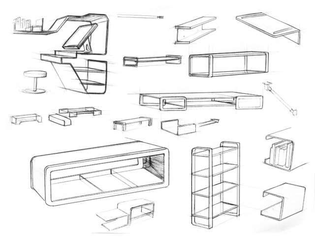 Modern Furniture Drawings cxa enterprises | we design and fabricate top quality hand crafted